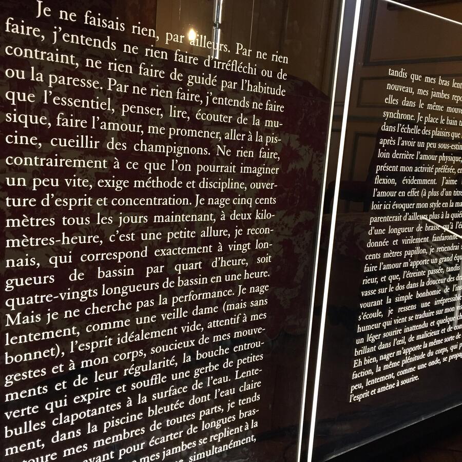 Ma Petite Chaise Nantes jean-philippe toussaint decorative