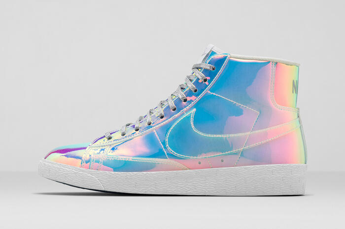 Nike, Blazer Mid Iridescent Collector<br/> © madd Bordeaux - M. Delanne