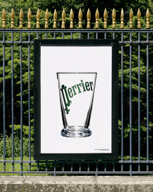 Course in the city (Jardin Public) - Martin Szekely, Perrier glass, 1996 <br/> &copy;  Alain Beulé (verre Perrier) & madd-bordeaux