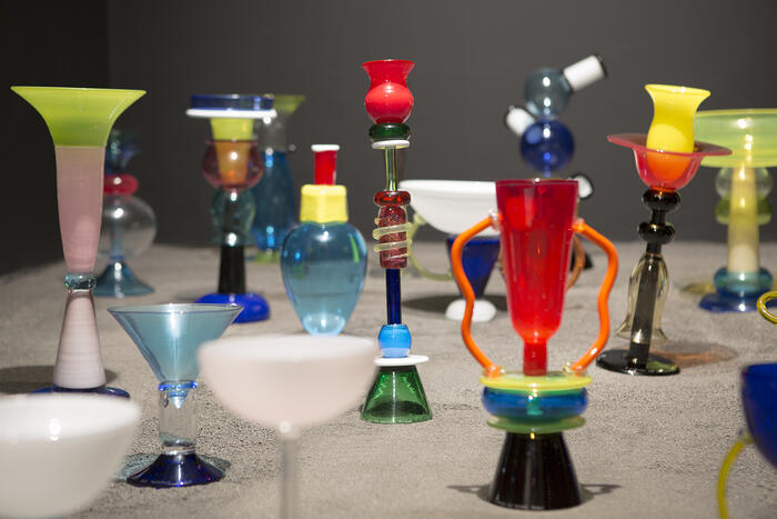 Ensemble de verres - Cellule 6<br/> &copy; madd-bordeaux – Laurent Gueneau